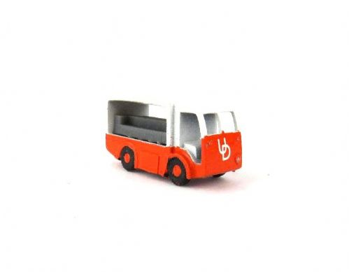 Arch Laser A3D0003 N Gauge NCB Milk Float (no doors) painted (orange)